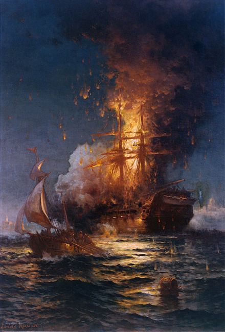 Burning The Ships And Sailing Away Manner Of Speaking