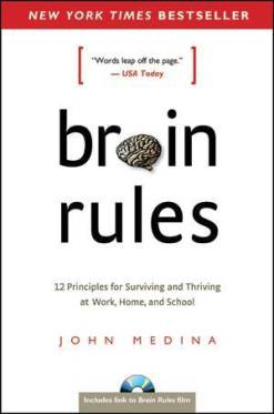 Brain Rules offers a brain hack for public speakers