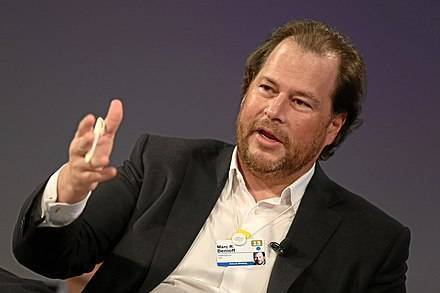 Marc Benioff speaking: Presentation skills are key. People who work for you represent your brand.