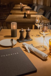 Glutenfreies Dinner im Restaurant Essenz