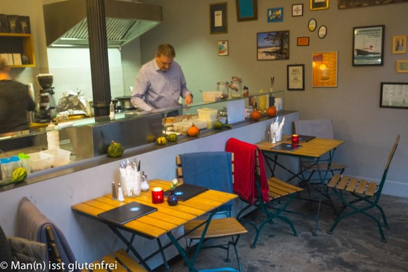 Baltique die Pankuka Bar offene Küche