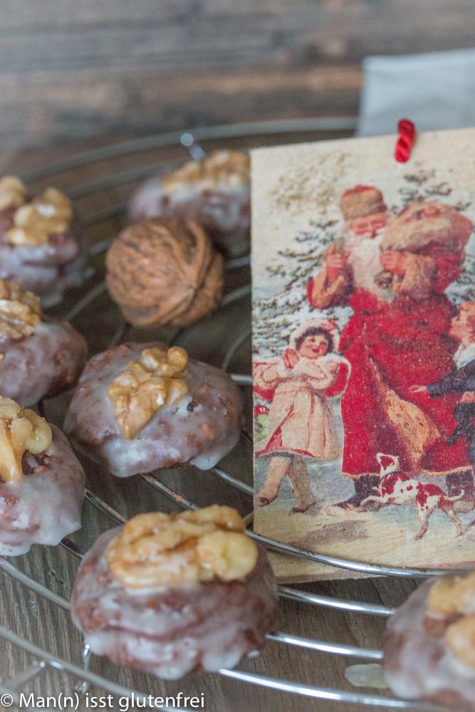 Walnuss Lebkuchen -glutenfrei und laktosefrei