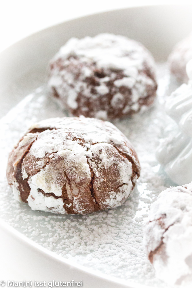 Schokoladen-Plätzchen-Nahaufnahme