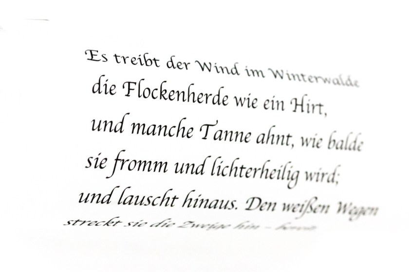 Wintergedicht Advent Rainer Maria Rilke-2