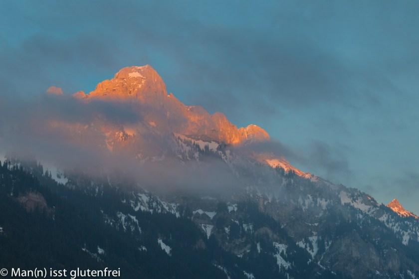 Berg Sonnenuntergang
