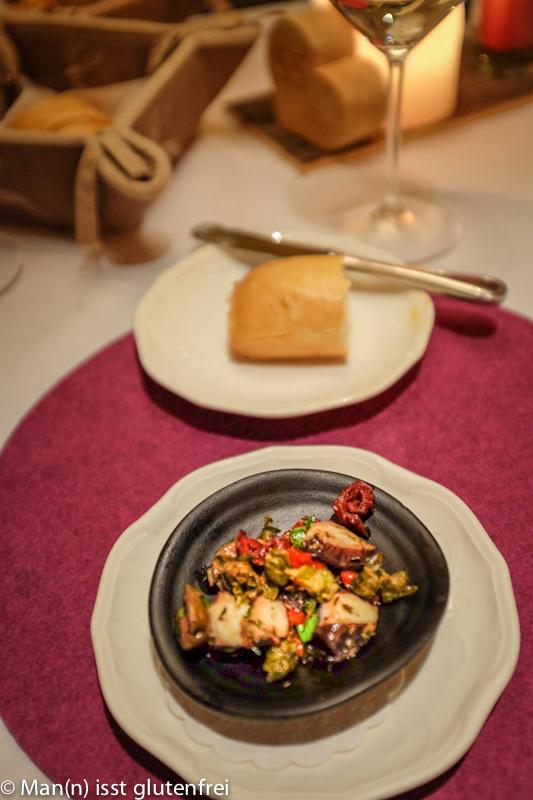 Hotel Engel Grän Pulpo Salat