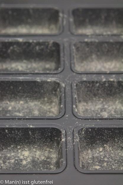 Mini Kastenform gefettet