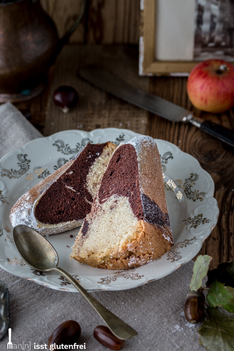 Marmorkuchen - glutenfrei und laktosefrei