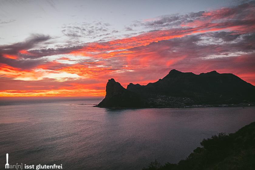 Hout Bay Sonnenuntergang