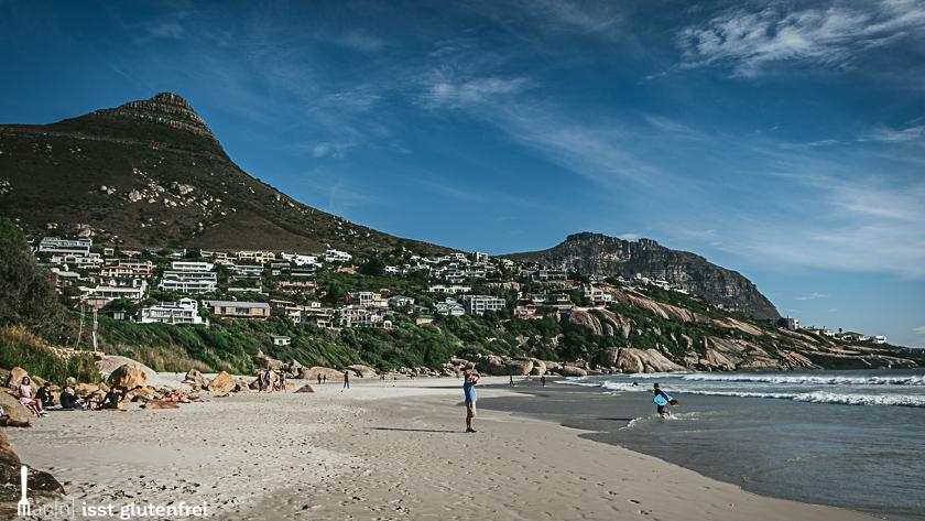 Llandudno Südafrika glutenfrei auf Reisen