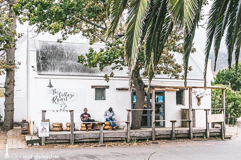 Südafrika Kapregion Kaffeerösterei