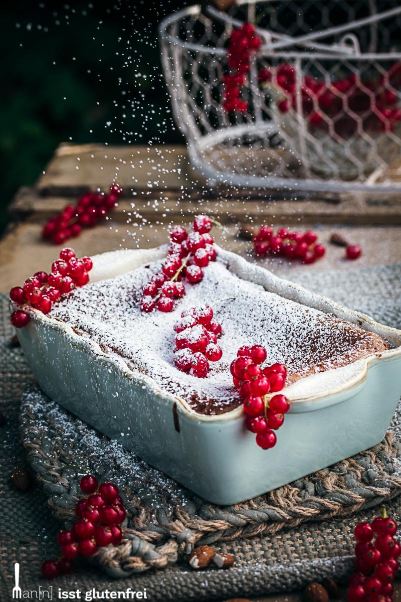 Bakewell Pudding verziert