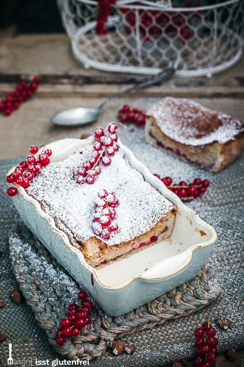 Bakewell Pudding angeschnitten