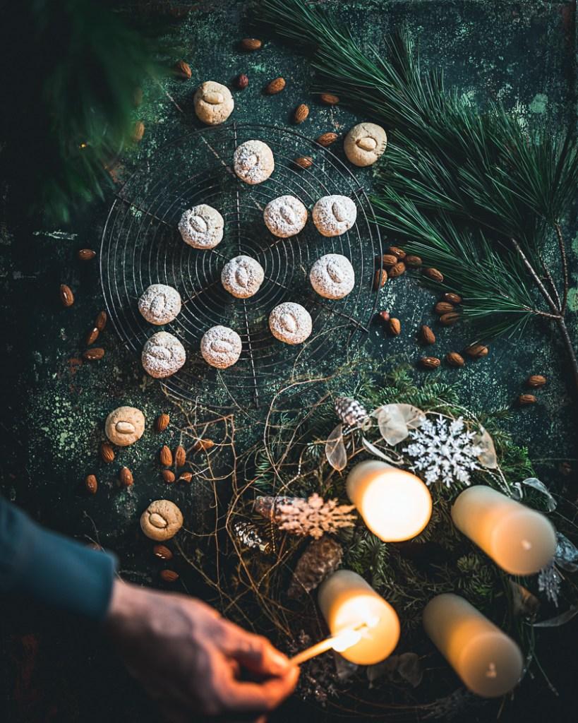 Amaretti - Italienische Mandelmakronen glutenfrei