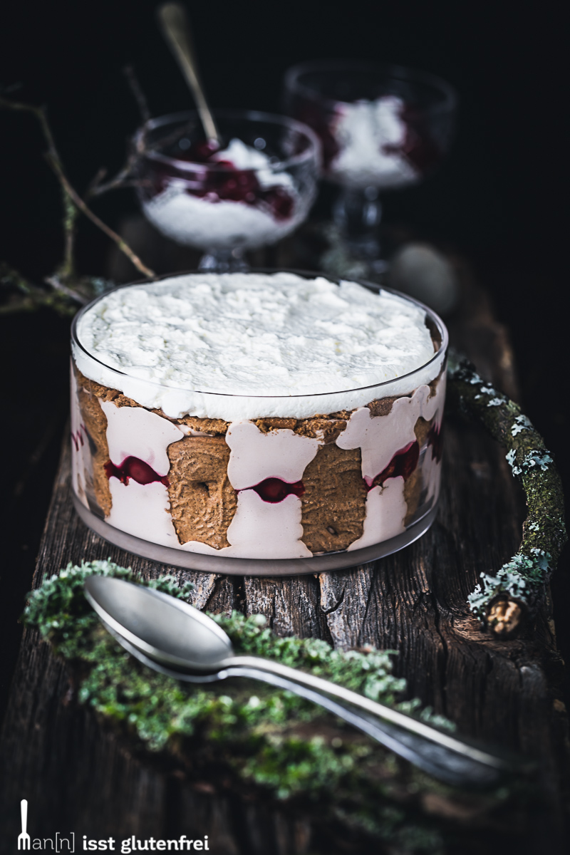 Spekulatius Trifle -  Weihnachtsdessert glutenfrei und laktosefrei