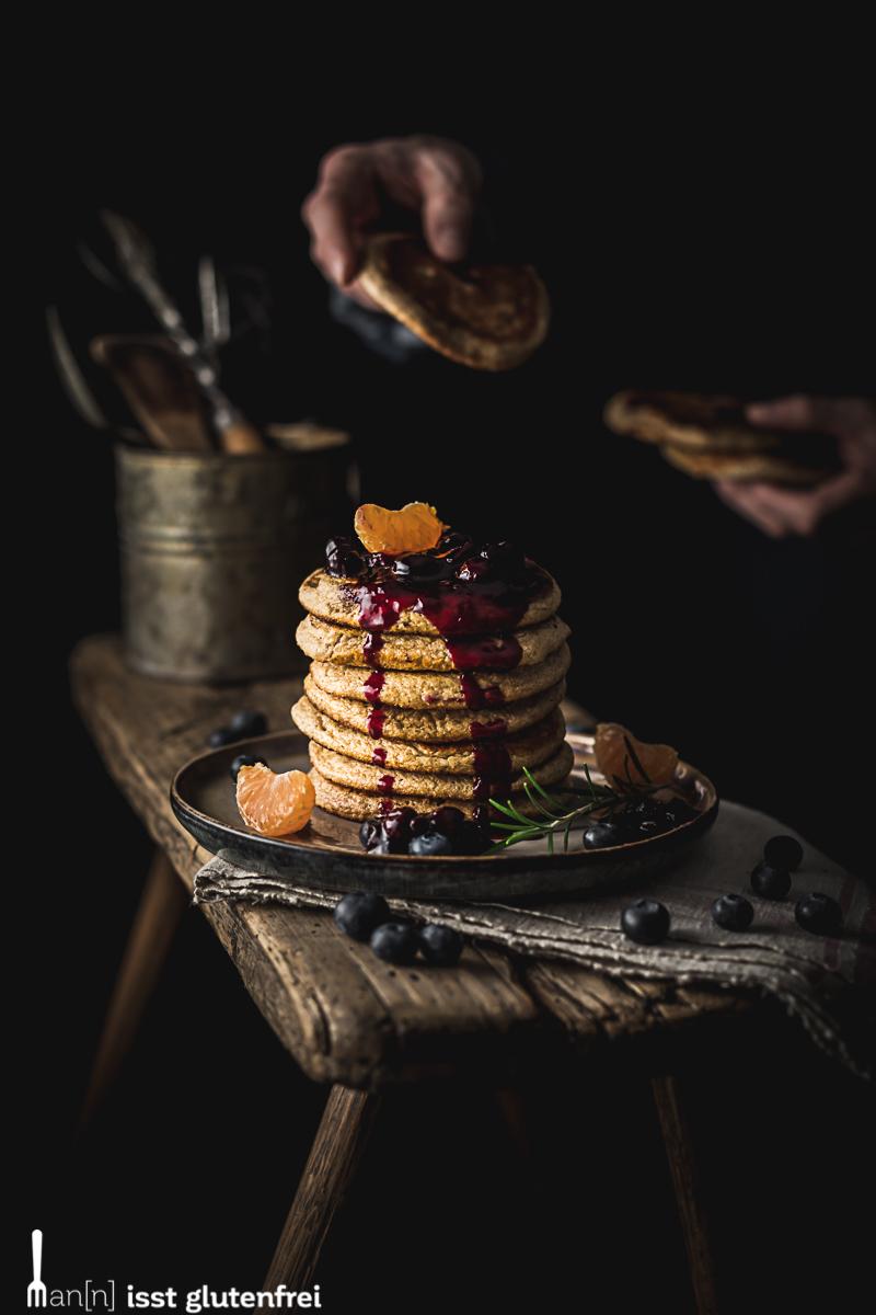 Hafer Pancakes