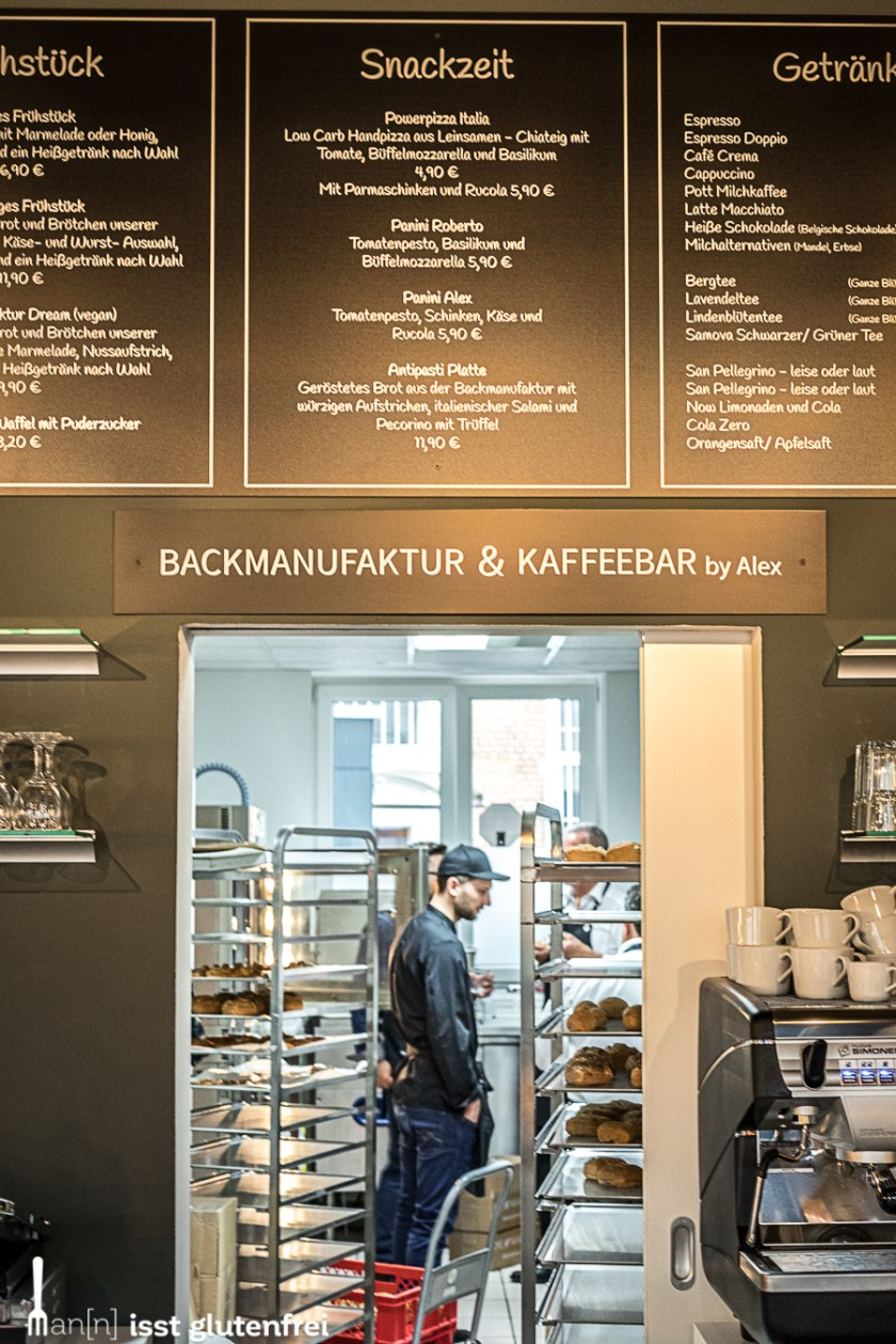 Maisterei Kafee glutenfrei in Frankf
