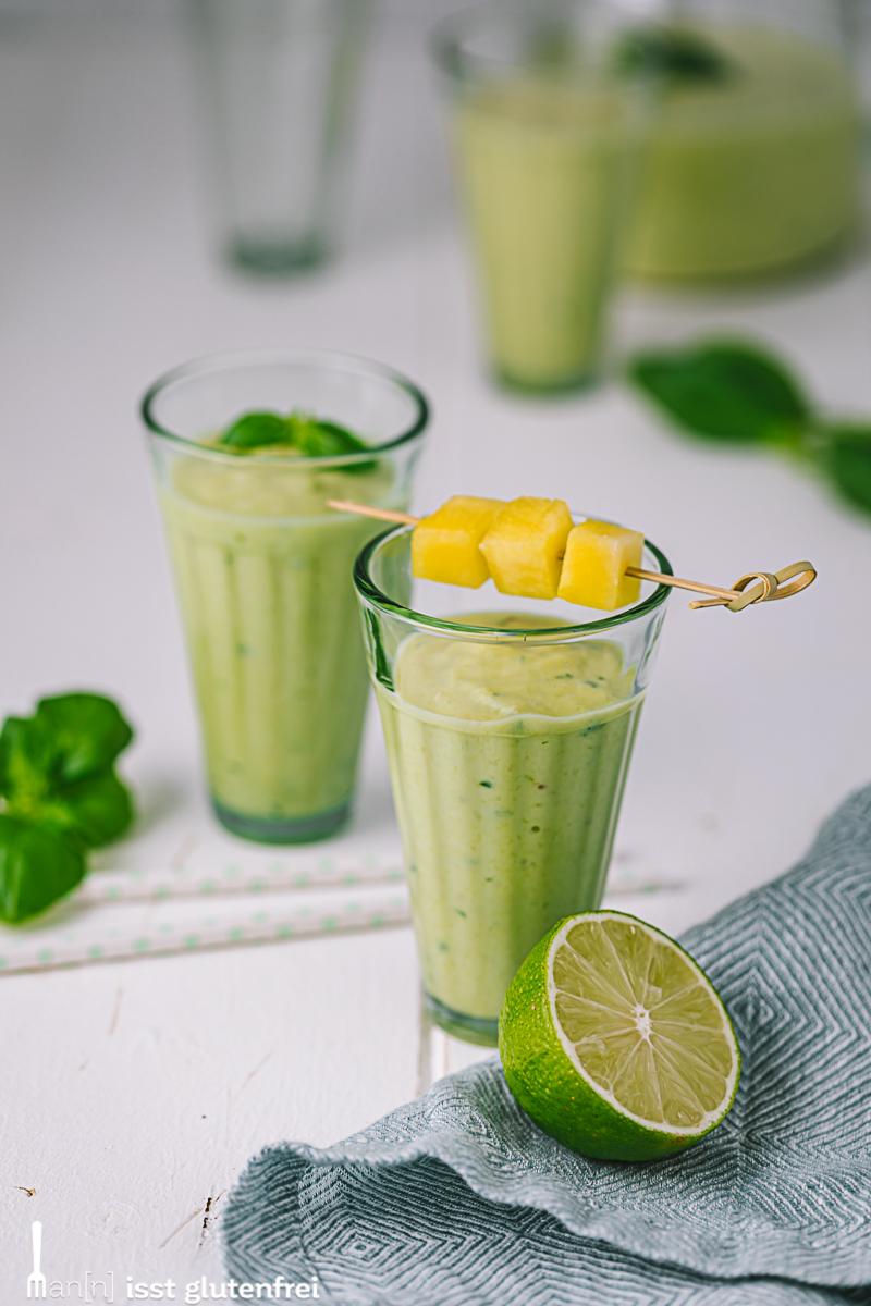 Avocado-Ananas-Smoothie