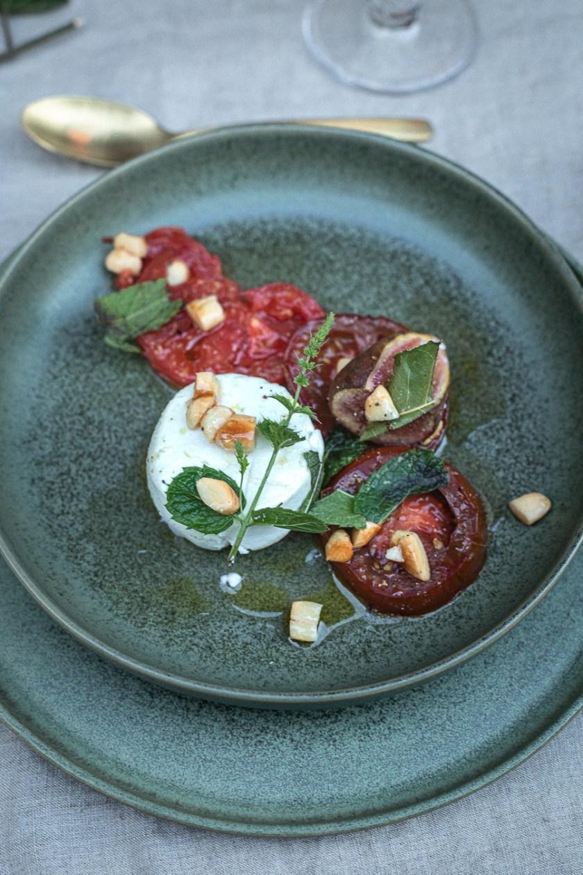 Lauwarmer Tomatensalat glutenfrei