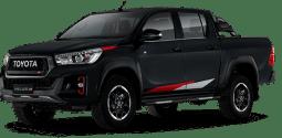 Toyota Hilux negro mica