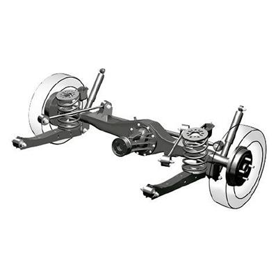 Tracción Posterior.   La tracción posterior le da al Avanza mejor maniobrabilidad, que se traduce en su reducido radio de giro y mayor capacidad de arranque en pendientes.