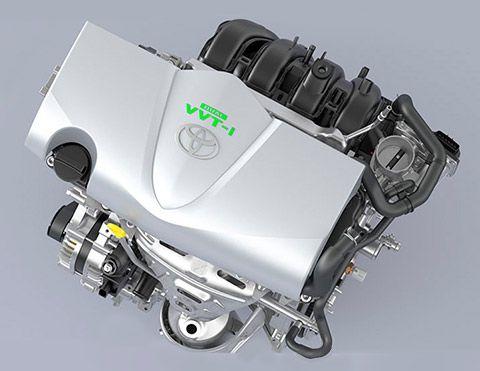 Motor   Motor de 1,3 litros con sistema Dual VVT-i que optimiza la sincronización de válvulas, para una respuesta rápida y potente con un menor consumo de combustible.