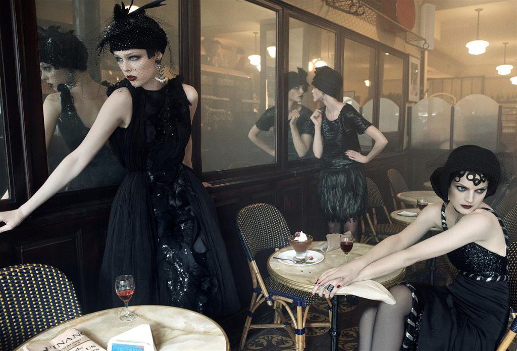 Steven Meisel chụp Agyness, Coco, và Gemma cho US Vogue tháng Chín, 2007