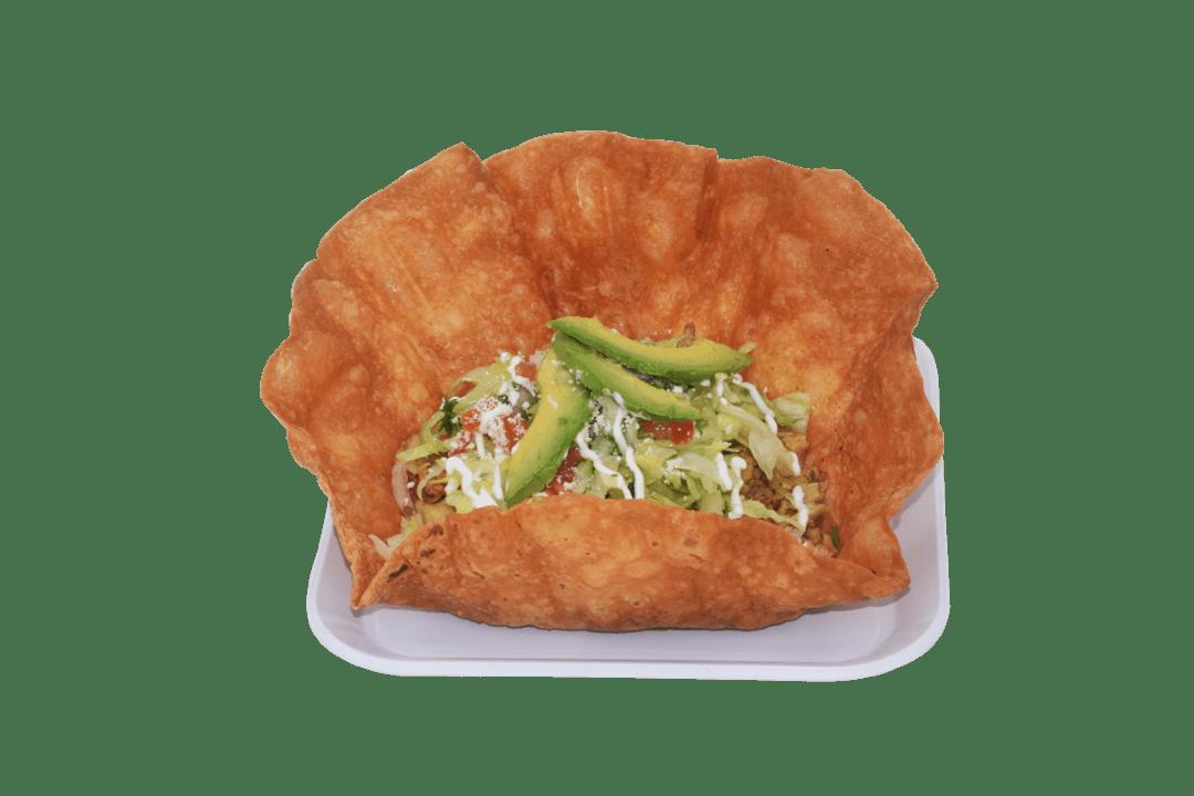 Tostada Salad $7.00