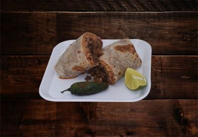 Burrito $7.00