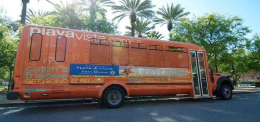 Playa Vista Beach Shuttle