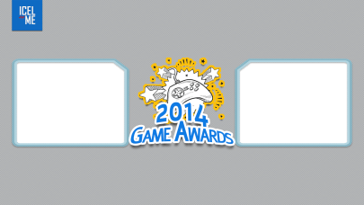 Icel.me 2014 Game Awards broadcasting overlay.