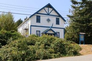 Malahat Masonic Hall, 2748 Lashburn Road, Mill Bay, B.C. (photo: Manoah Lodge No. 141 Webmaster)