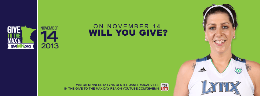 Tomorrow is Give to the Max Day!