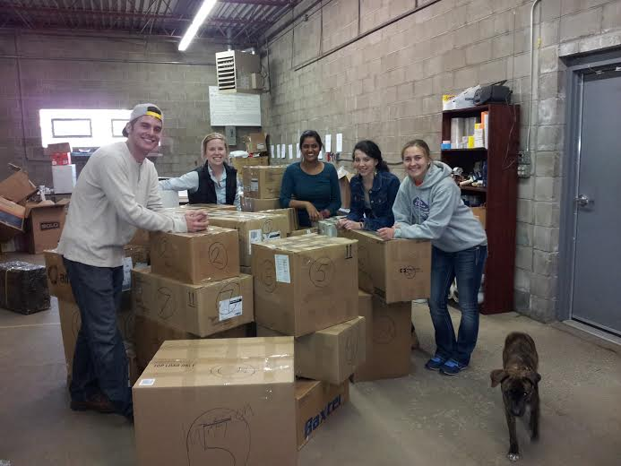 Thanks St. Thomas Volunteers!