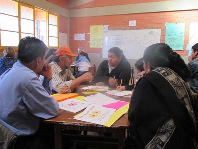 Training session with Arani teachers and Mano a Mano.