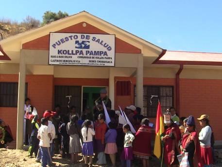 One of Mano a Mano's newest clinics in Kollpa Pampa, Bolivia -dedicated June 23, 2014.