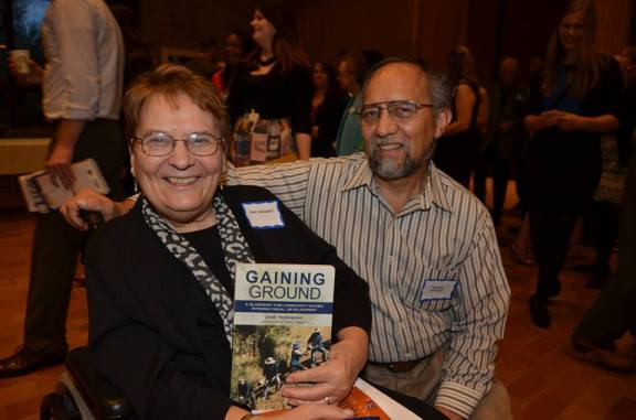 Joan and Segundo at the Midwest Book Awards last week.