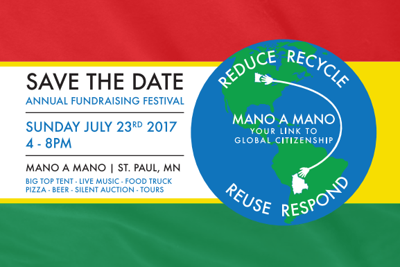 Join Us July 23rd, 2017 for Mano a Mano's 8th Annual Event