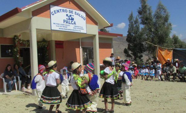 Dedicating a New Clinic in Palca, Bolivia