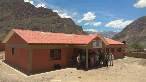 Mano a Mano's new clinic in Sumala, completed in December 2020.