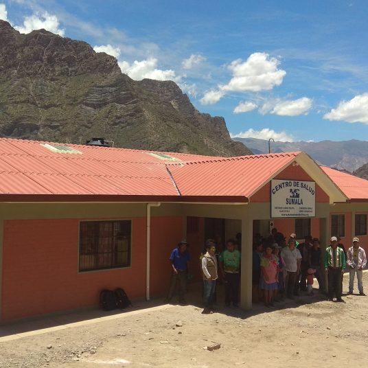Mano a Mano's new clinic in Sumala
