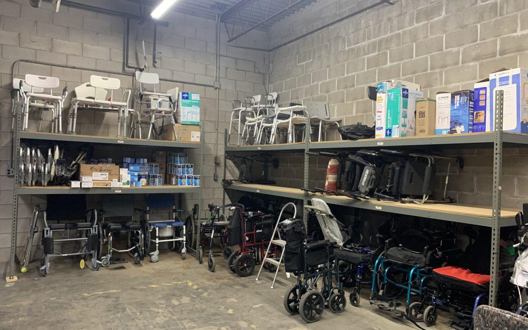 Durable Medical Equipment Giveaway on Saturday, May 8th at Mano a Mano