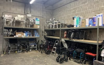 Durable Medical Equipment Giveaway on Saturday, May 8th at Mano a Mano
