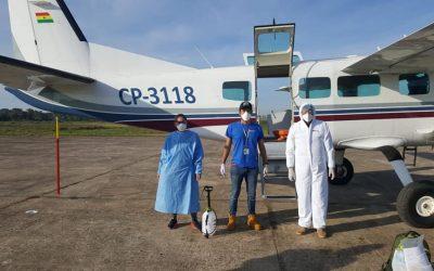 Providing Air Transport from San Borja to Cochabamba for Oscar