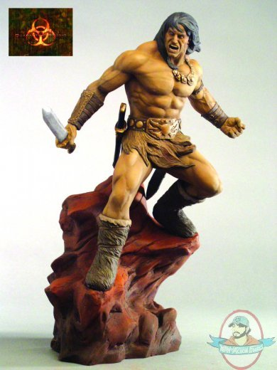 Conan The Barbarian Statue By Quarantine Studio Man Of