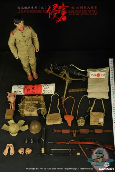 KADHOBBY 16 Action Figure WWII Japanese Infantry Army KH