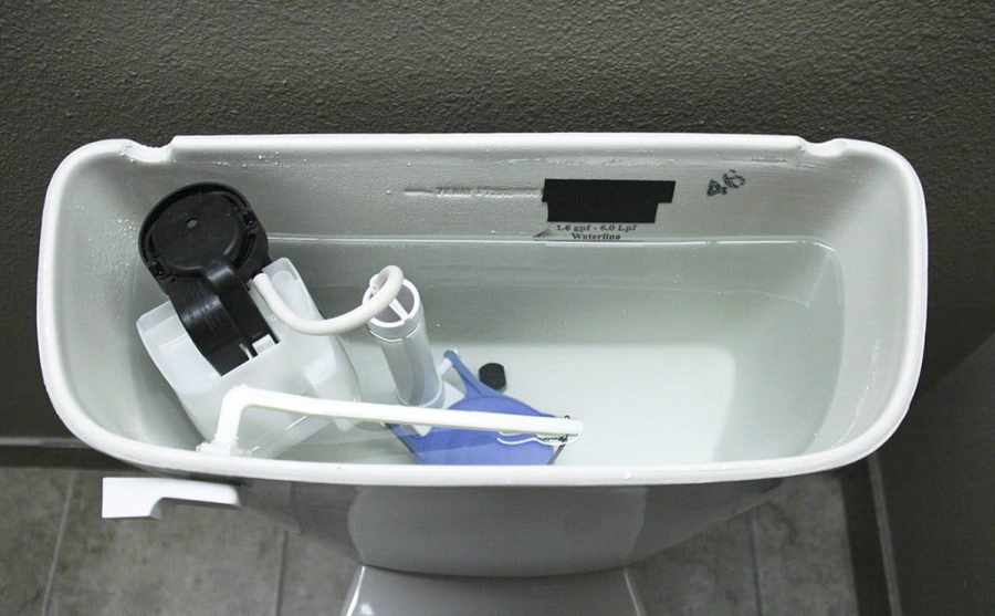 toilet flush valve components repair kit