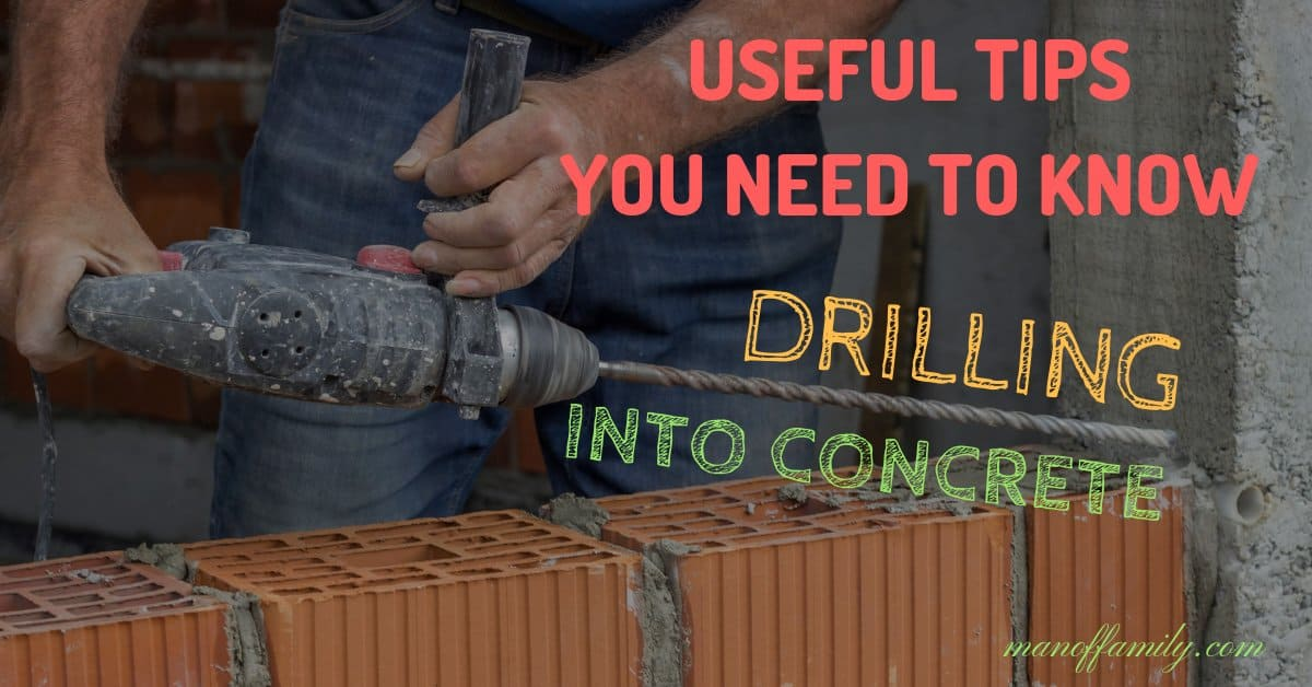 drilling-into-concrete