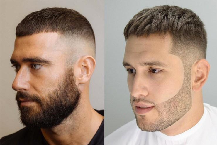 Short Crop Cut hair
