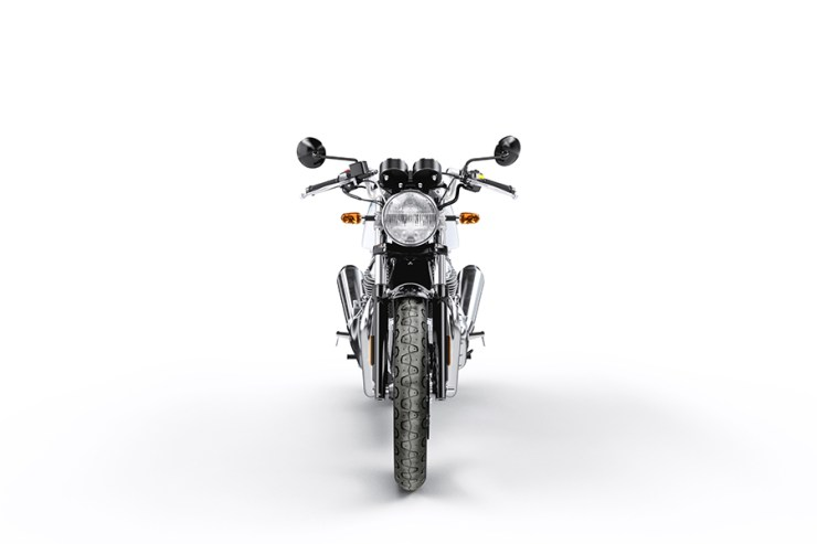 cContinental GT 650 Ice Queen - Front View